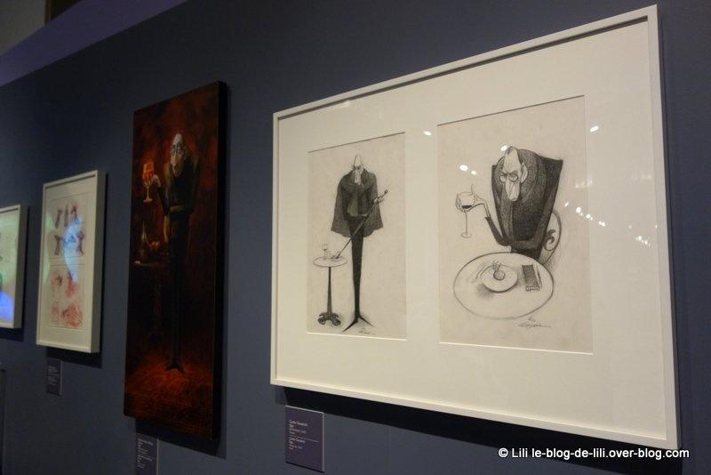 """J'ai adoré l'expo """"Pixar, 25 ans d'animation"""" au musée art ludique"""