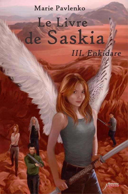 """""""Le livre de Saskia 3 - Enkidare"""" : Marie Pavlenko a assuré jusqu'à la dernière ligne"""