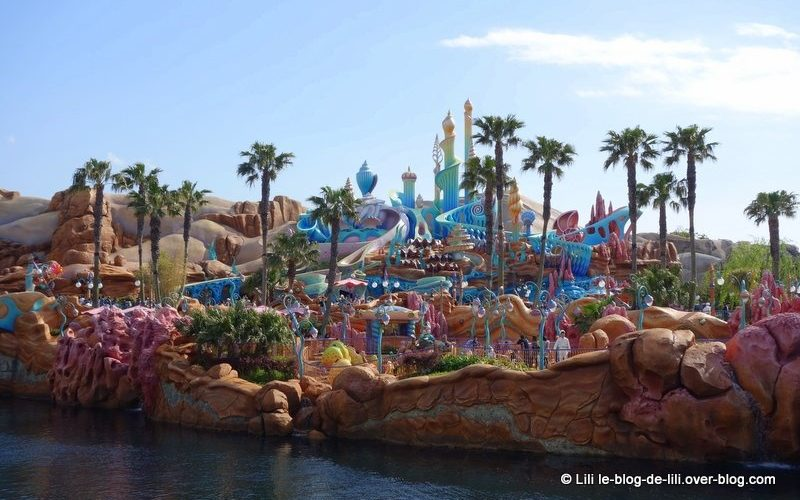 Le château de la petite sirène, Tokyo Disney Sea
