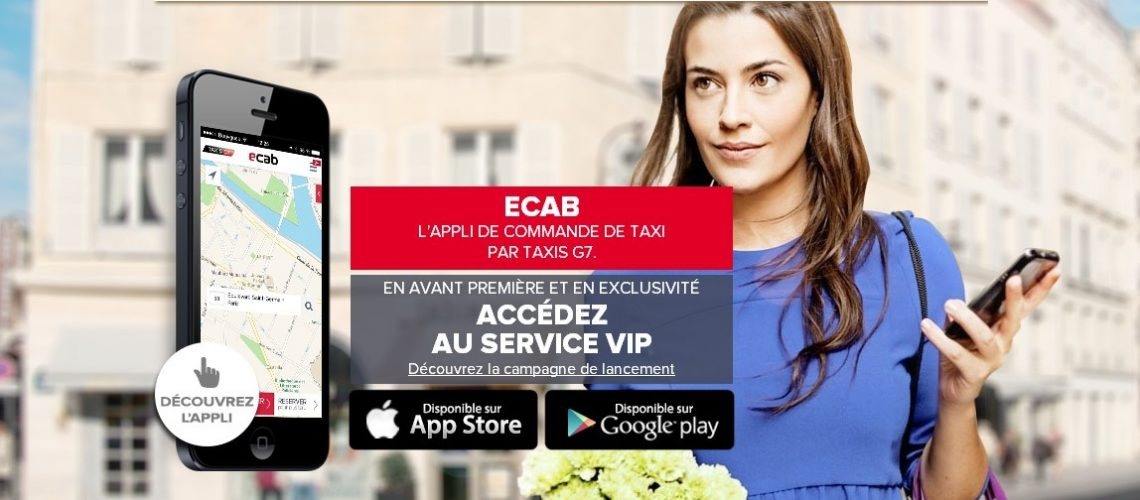 Concours gagnez 6x5 courses de taxi ecab vip un for Garage des taxis g7