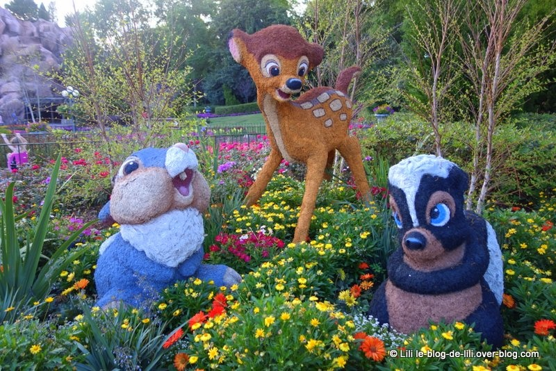 Une journée à Walt Disney World : le parc Epcot pendant le festival fleur et jardin