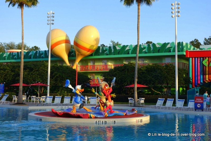 Walt Disney World : dormir au Disney's All-Star Music Resort
