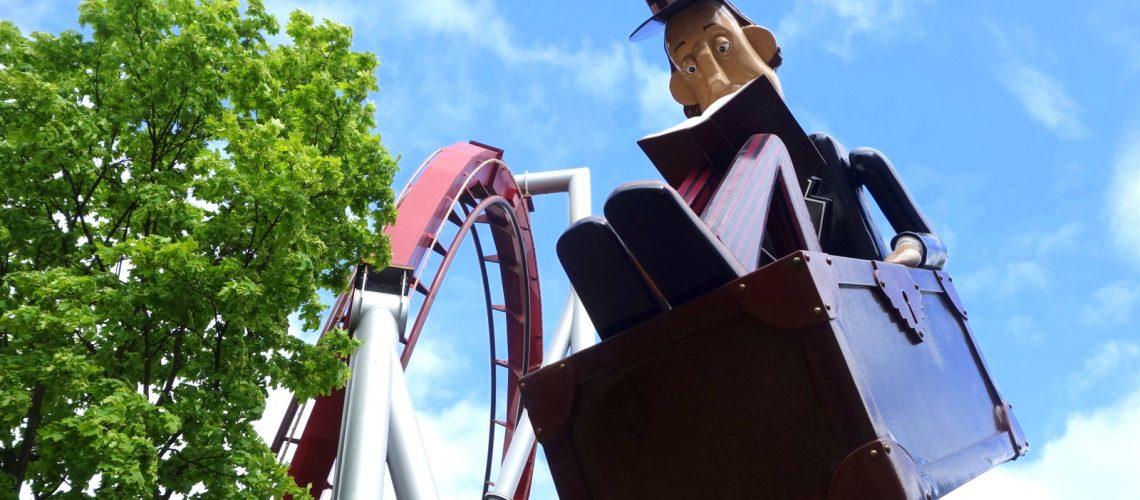 Décor du parc d'attractions Tivoli, un incontournable à Copenhague