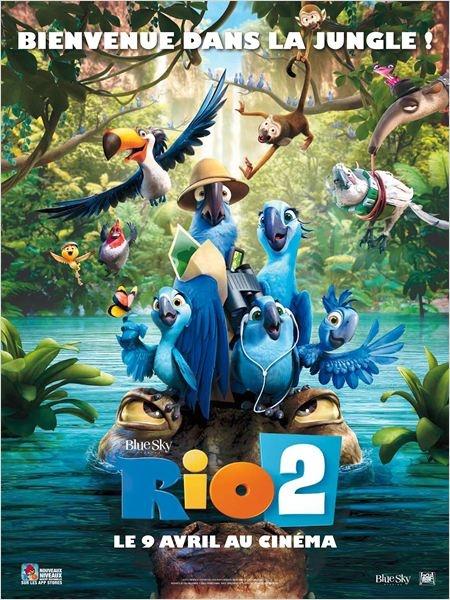 """""""Rio 2"""" : un deuxième voyage cinématographique au Brésil"""