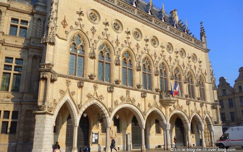 L'hôtel de ville d'Arras