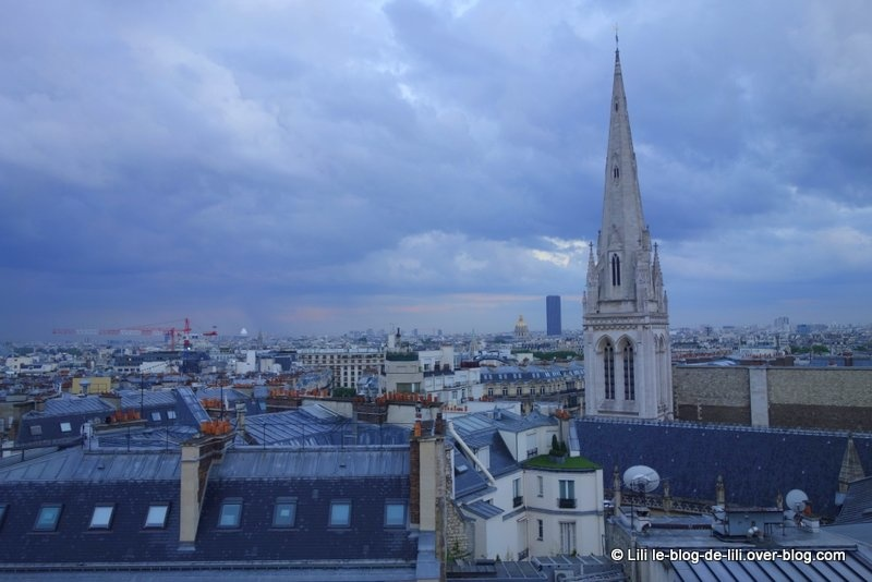 Une soirée danoise avec une magnifique vue sur Paris depuis la terrasse de l'hôtel de Sers