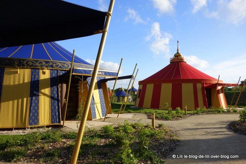 Une nuit au Camp du Drap d'Or, au Puy du fou