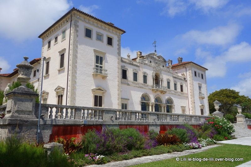 La Villa Vizcaya : comme un air d'Europe à Miami