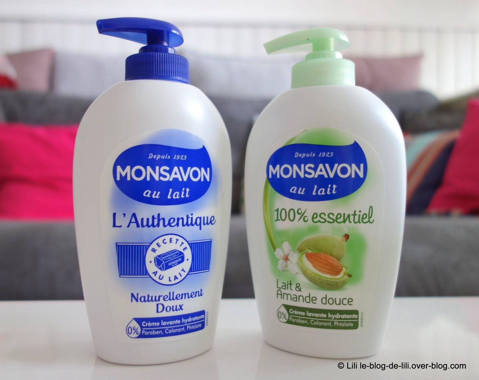 [Concours] Cinq savons liquides Monsavon l'authentique à gagner