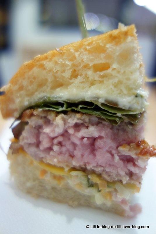 Le burger Fastandfood, à déguster chez Lafayette gourmet