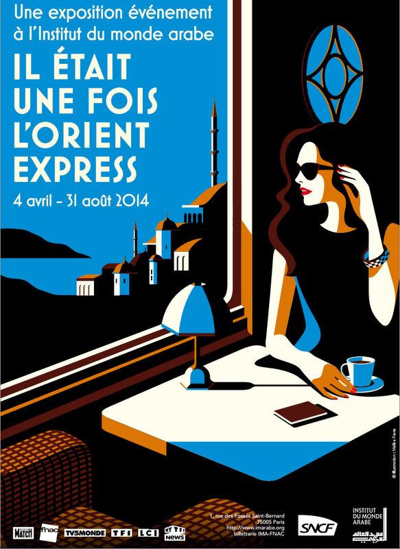 Il était une fois l'Orient express, l'expo de l'Institut du monde arabe