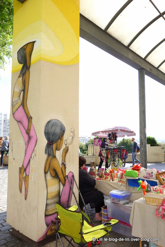 Promenade street art parisienne : de la Butte-aux-Cailles au parc de Belleville