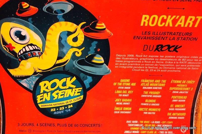 """""""Du rock"""" : l'alliance de la RATP et de Rock-en-Seine"""