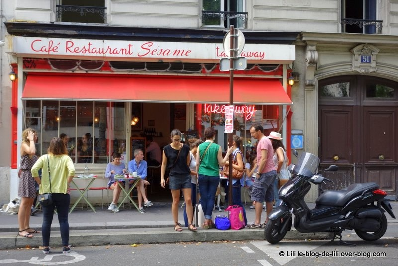 Où bruncher à Paris (42) : Sésame