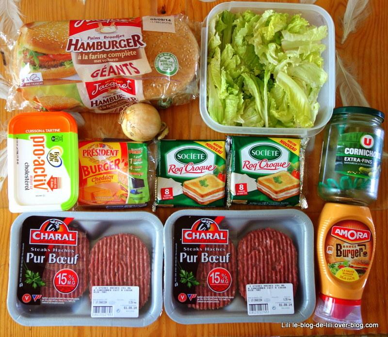 Nos recettes de vacances : des burgers et des frites maison