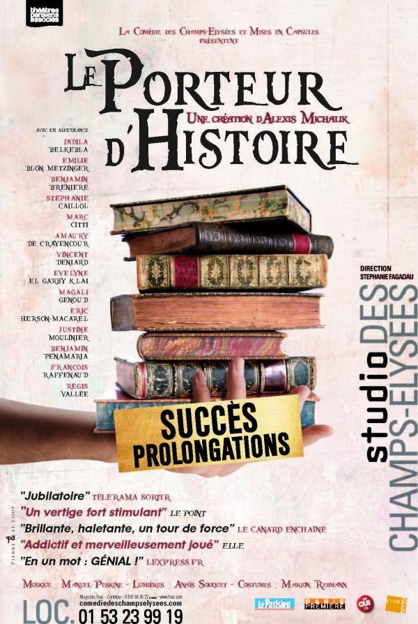 """""""Le porteur d'histoire"""" : le théâtre qui fait voyager dans le temps"""
