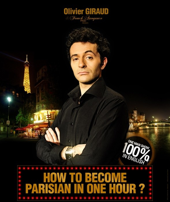 """How to become parisian in one hour"" : un spectacle divertissant... et en anglais, of course !"