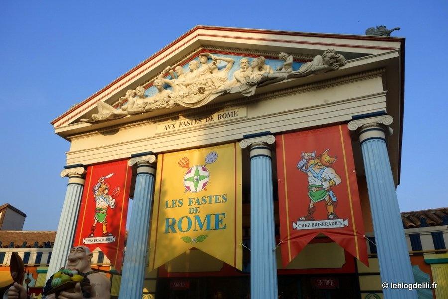 Une journée au parc Astérix (2/2) : à la rencontre des Grecs, des Romains, des Vikings & Cie