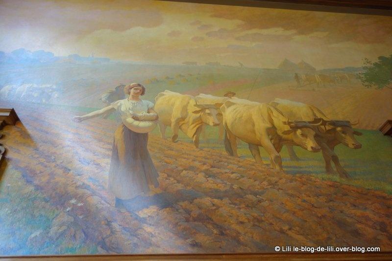 La visite du ministère chargé de l'agriculture pour les journées du patrimoine
