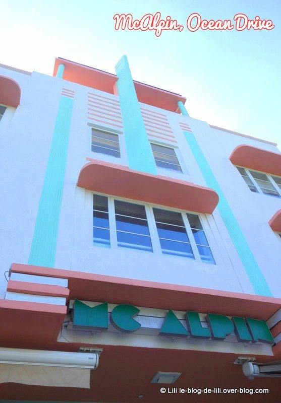 art deco district les couleurs de miami beach le blog de lili. Black Bedroom Furniture Sets. Home Design Ideas