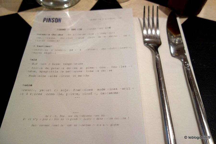 Où bruncher à Paris (45) : le café Pinson 3e