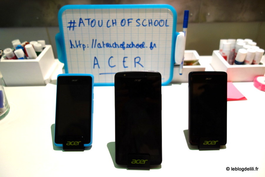 #ATouchOfSchool : quand Acer nous fait revivre l'école à l'Openmind kfé