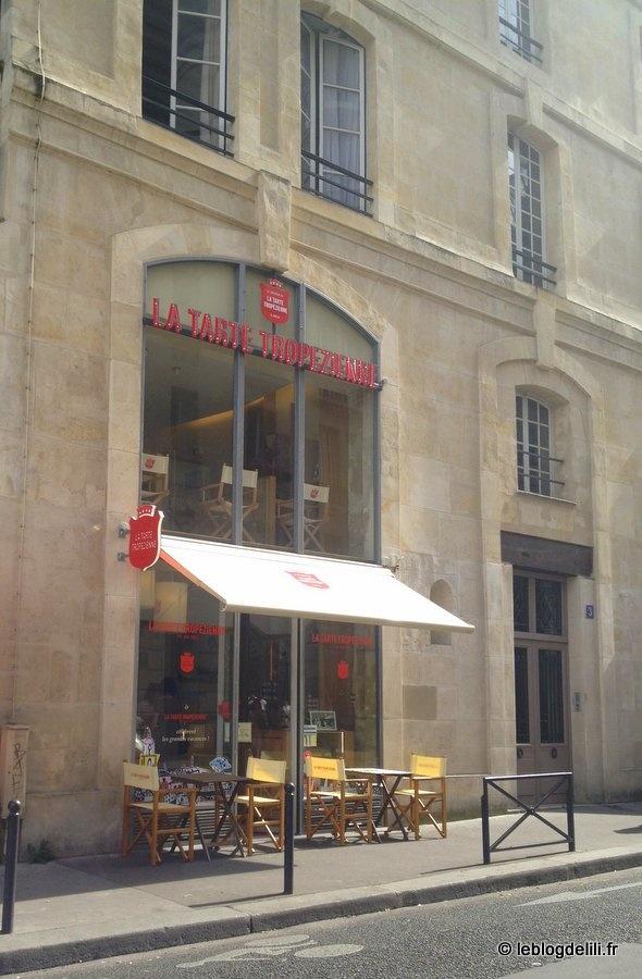 La tarte tropézienne, nouvelle tentation parisienne