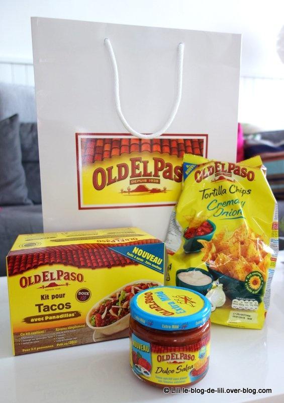 Les panadillas d'Old el paso : soirée mexicaine et petits plats maison