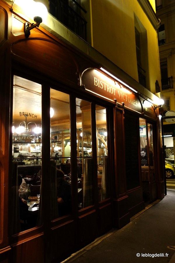 Le bistrot Victoires, un restaurant parisien sympa et bon marché