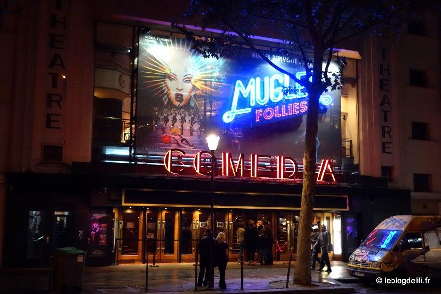 Mugler follies : un cabaret décalé au théâtre Comédia