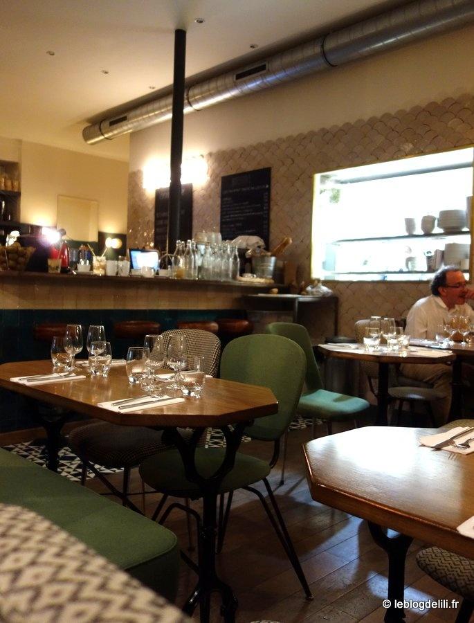 Un dîner healthy au Café Pinson 10e à Paris