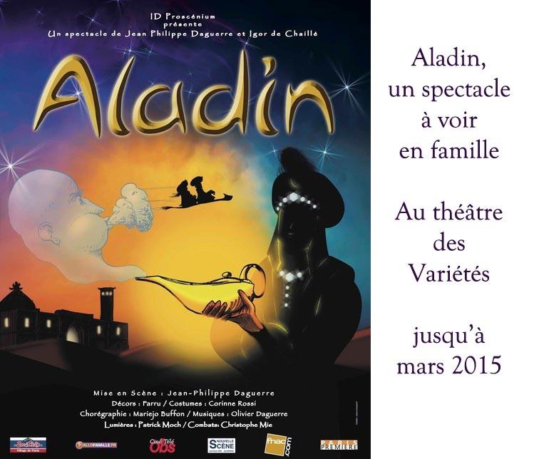 """""""Aladin"""" : un voyage au Moyen-Orient le temps d'un spectacle musical"""