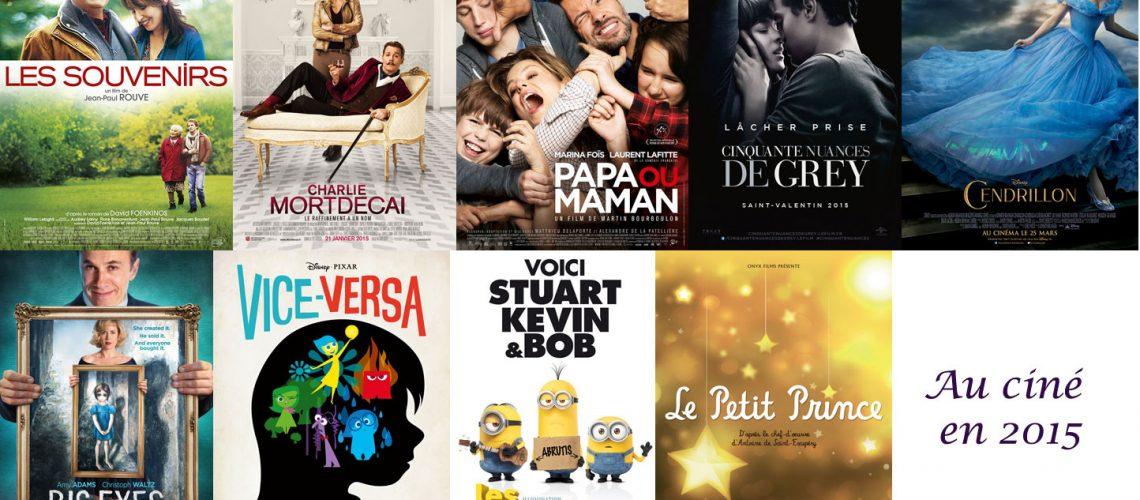 Sélection de films 2015