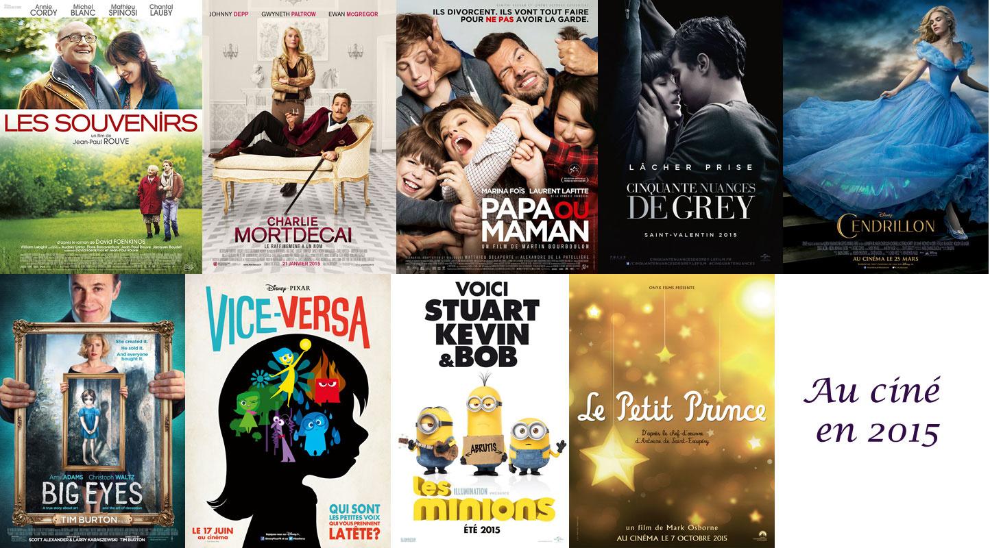 Au cinéma en 2015 : mes premiers repérages de films