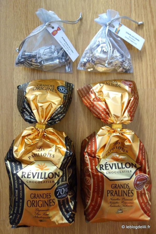 Des papillotes Révillon chocolatier pour Noël