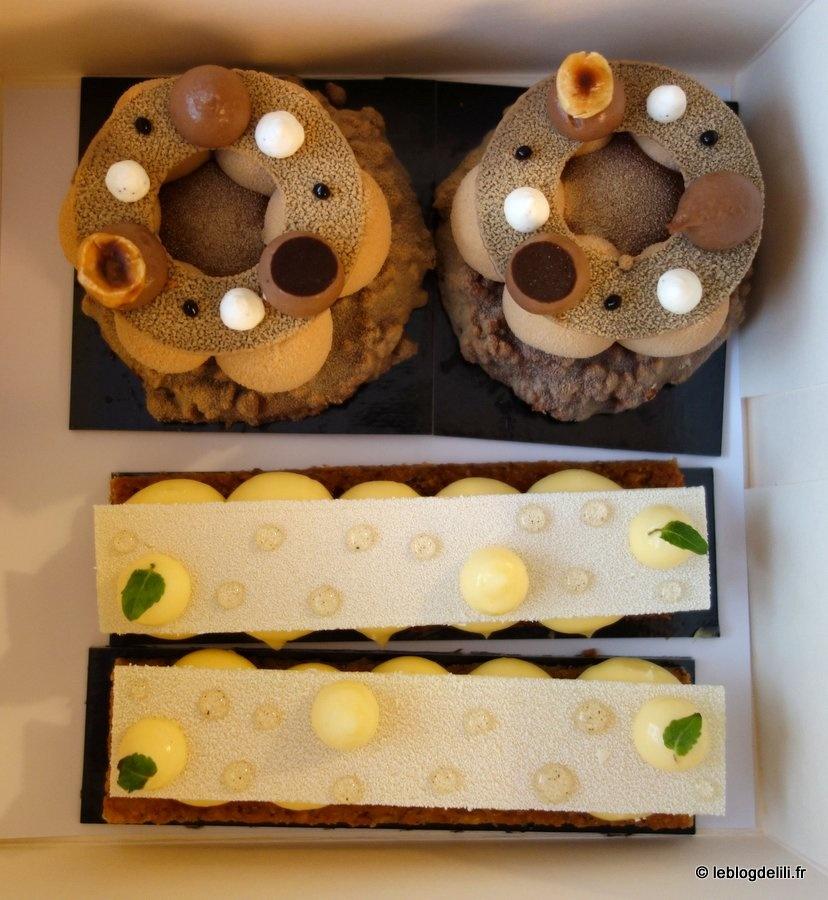 La pâtisserie Cyril Lignac : la tarte au citron et le croc'noisettes