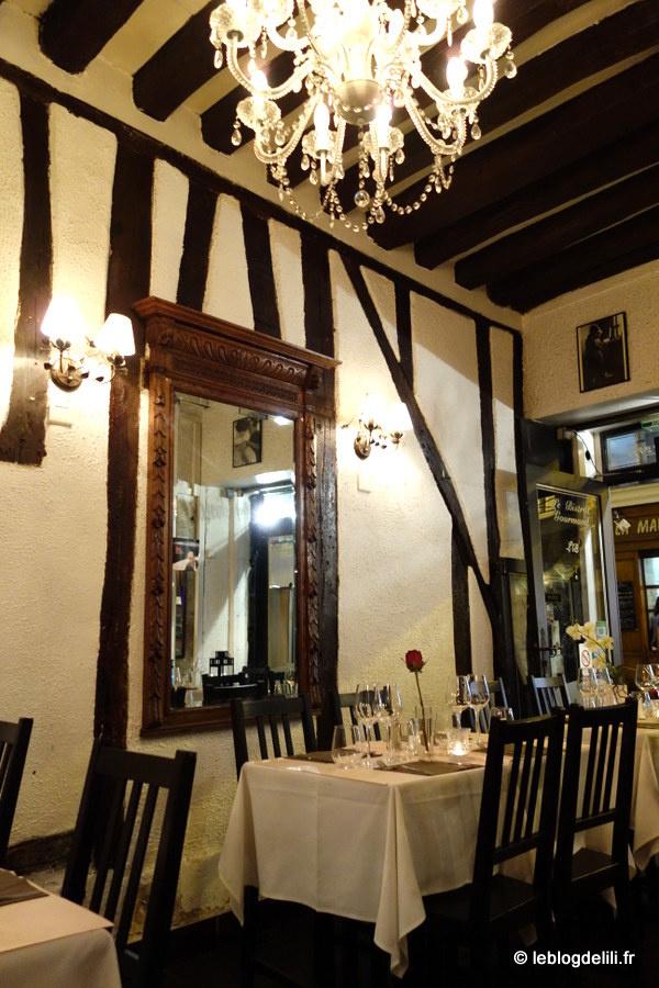 Le bistrot gourmand, rue Mouffetard : comme des touristes à Paris