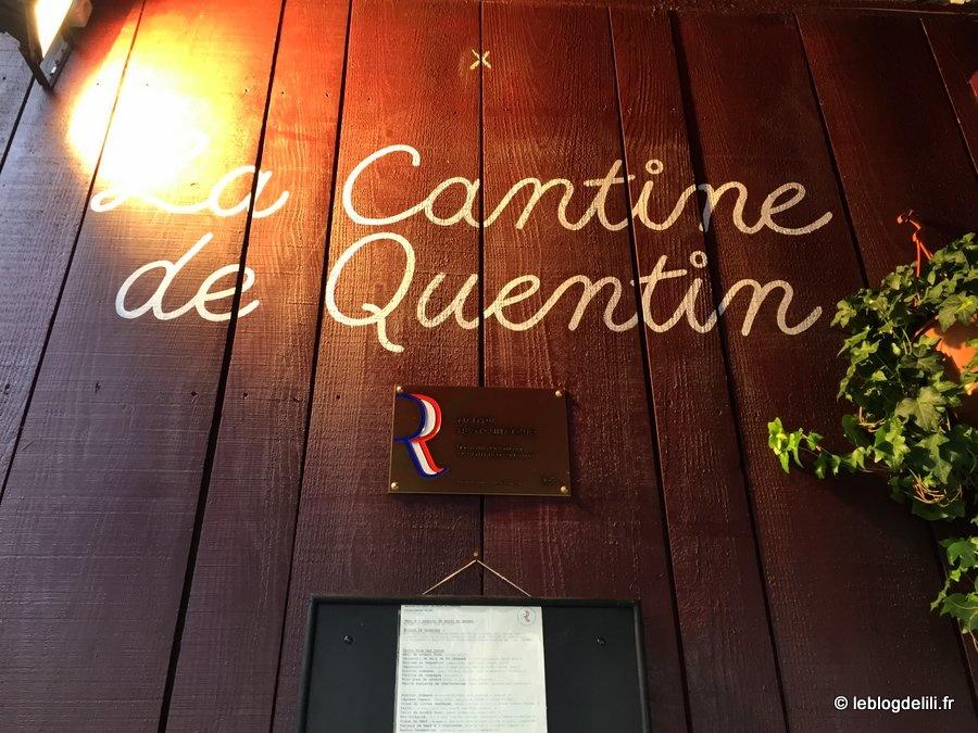 La cantine de Quentin, un restau près du Canal Saint-Martin