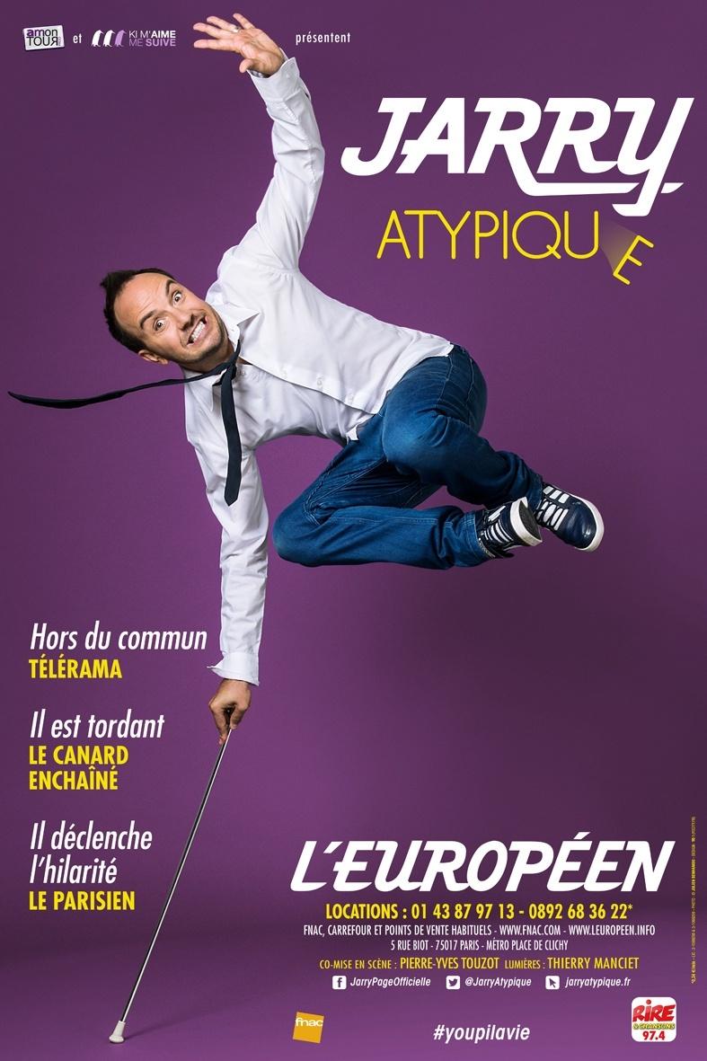 L'humoriste Jarry présente son one man show atypique