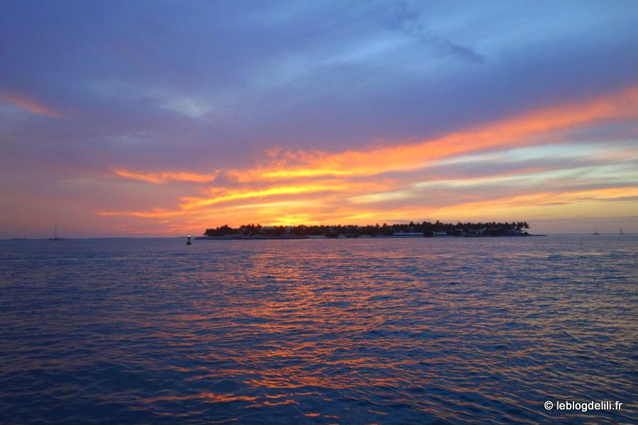 Voir le soleil se coucher sur Key West