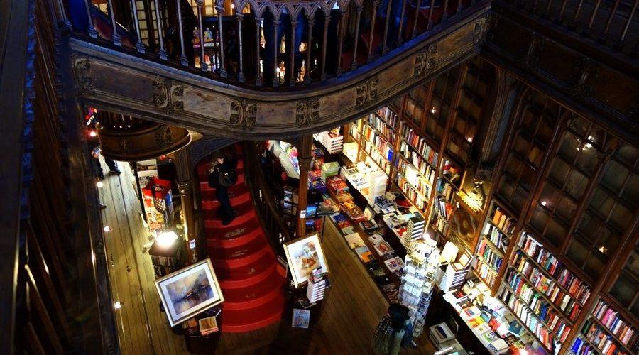 La librairie Lello, un immanquable de Porto