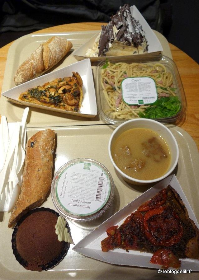 EXKi Montparnasse à l'heure du déjeuner