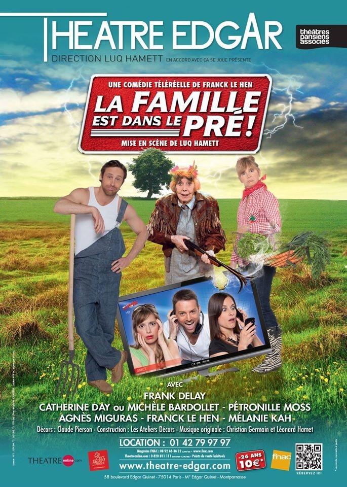 """""""La famille est dans le pré"""" : un bon moment de divertissement au théâtre"""