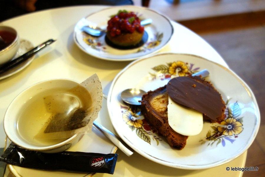 Mon premier goûter à la pâtisserie sans gluten Helmut Newcake