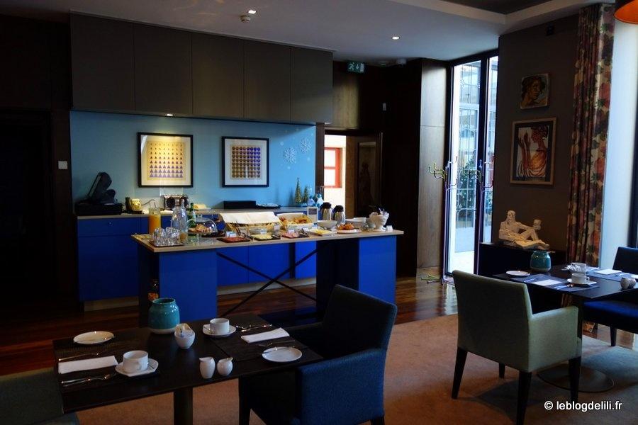 The artist hotel & bistro : notre charmant hôtel à Porto