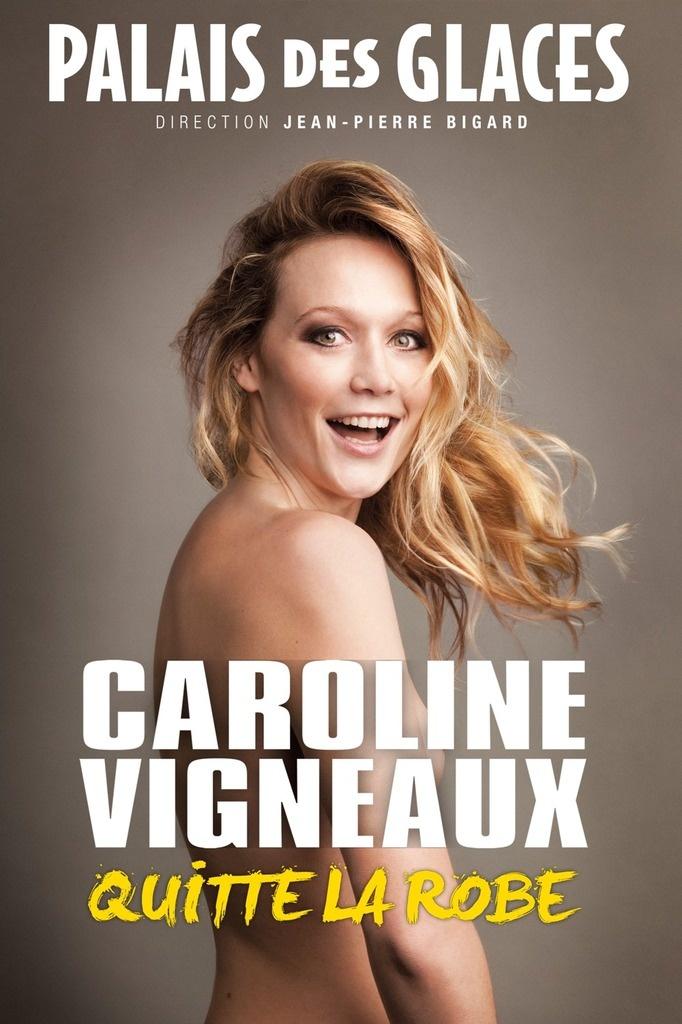 """[One woman show] """"Caroline Vigneaux quitte la robe"""" au Palais des glaces"""