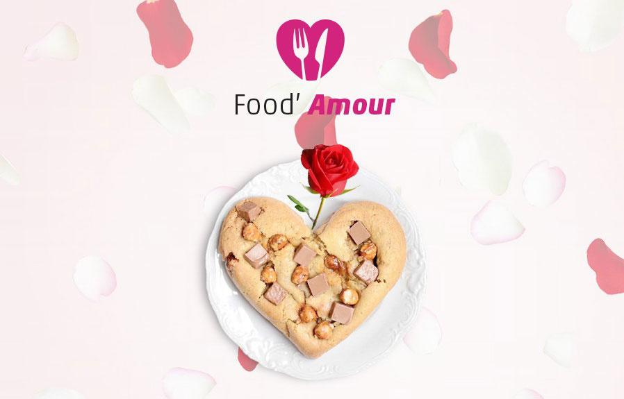 Concours : gagnez un délicieux cookie en forme de cœur pour la Saint-Valentin