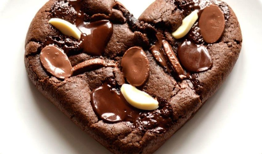 Cookie en forme de cœur