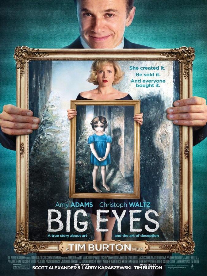 """""""Big eyes"""" : quand Tim Burton porte une imposture artistique au cinéma"""