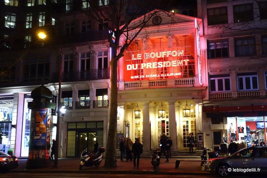 """""""Le bouffon du président"""" : du théâtre et des politiques"""
